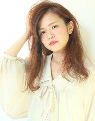 【GRANDE】2016☆外国人風!前髪かきあげロング