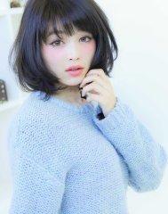 【RECIEL】ボブスタイルのふんわりエアリーパーマ