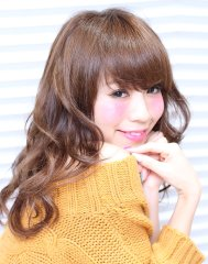 【DRESS】ルーズカールセミ