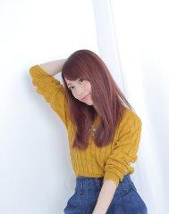 【blue】グラデーションでピンクベージュ☆
