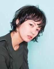 【NiL】 暗髪アッシュ × ショートパーマ