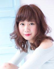 【shiomi H】ゆるふわシフォンカール