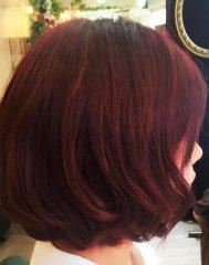 秋色モテ髪カラー