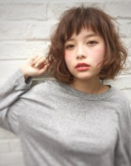 [fifth]☆ショートバング☆ふわくしゃ☆
