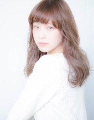 甘めバング☆愛されセミロング