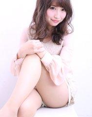 【セミロング】オトナ女子のピンクアッシュカラー