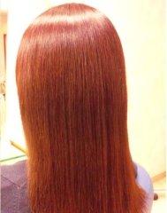 伸びにくいクセやダメージヘアーに最適の弱酸性縮毛矯正