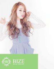【BIZE】 シースルーブラウン