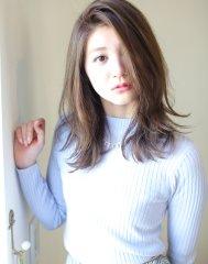 【髪質改善カラー】アッシュグレーの透明感☆