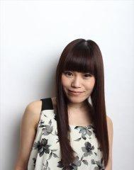 前髪短め目ヂカラ強調☆甘くないストレートクールロング☆