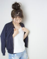 [Allie]カジュアルお団子ヘア♪