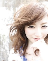 【Anphi】 うざバング☆艶と透明感のカラー&デジパーで女