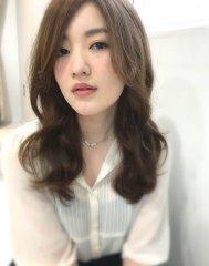 noir hair style/05 ラフウェーブ