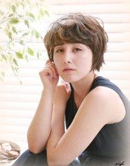 【vif】 ラフでフェミニンな☆大人可愛いショートボブ