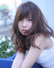 【Wish Hair】うざったミディ×シナモンベージュ
