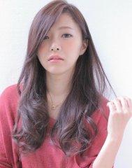 秋はカラーとエクステ☆スモークラベンダー【籔本英吾】