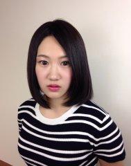 大人女子の艶髪