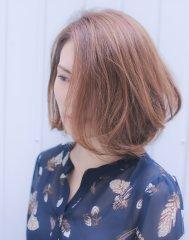【Wish Hair】大人女性切りっぱなしボブ