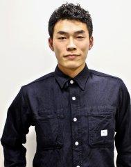 黒髪×ショート