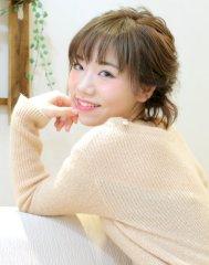 シースルーバングのフレンチボブディ☆アレンジ☆