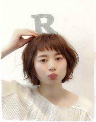 【Reir下北沢】*+ベビーバング+大人可愛いスウィートボブ