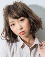 スタイリング簡単ロブスタイル【掛川クラウンズヘア クワノ】