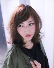 【Wish Hair】外ハネが可愛い*メルトカラー