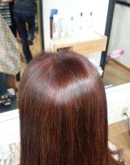 ふんわりしなやかに。髪質改善カラー!