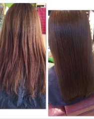 【うるツヤ髪】髪質改善ボタニカルカラーエステ