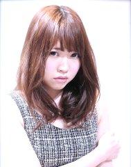 【ノームコア♪】無造作くせ毛風カール☆ミルクティーカラー☆