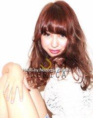 【横浜美容室ラムデリカ】チェリーピンクの大人可愛いセミロング