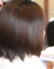 縮毛矯正スタイル
