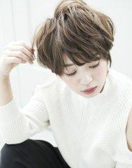 【mielhair新宿】大人可愛いグレージュショート♪