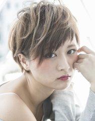 【miel hair est新宿】外国人風☆プラチナグレージ