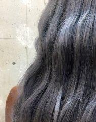 【透明感】透け感たっぷりほんのりブルーなグレー ¥6430〜