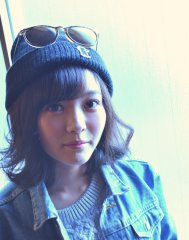 #belle chambre#ボブの帽子アレンジ☆
