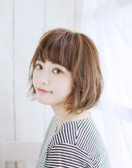 【hair lover air】 ぬけ感カジュアルボブ