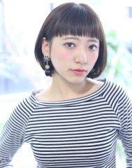 ◇デザインされた前髪のボブ◇JAM永野潤