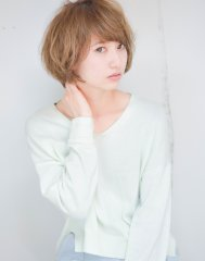 【EMMA天神・大名】フレンチカールボブ