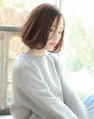 【GALLARIA栄】春色★ピンクミルクティーカラーふわミデ