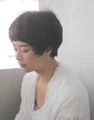 黒髪×好印象×ベビーショート[YOKe:E 松岡]