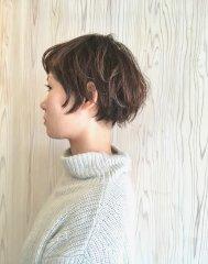『外国人風』ボーイッシュヘア