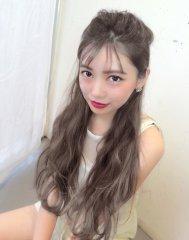 【遠藤眞実】イルミナグレージュカラー☆フリンジバング