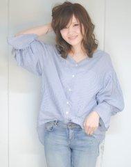【EMMA天神・大名】大人可愛いフェミニンウェーブ