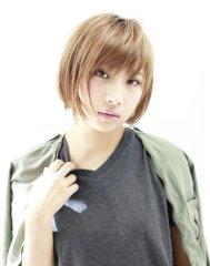 """""""素髪""""で決まるヘアスタイル♪『ナチュラル × ショートボブ"""