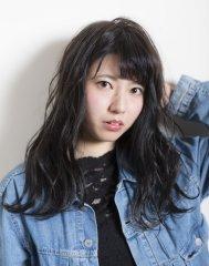 艶感♪黒髪スタイル