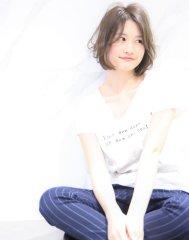 【M.SLASH】ニュアンスカールの抜け感ミディ