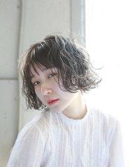 【A.r.s hair】透明感!グレージュアッシュ × くせ