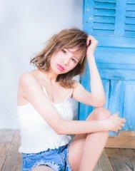 miel的外国人風セミディ【miel hair est新宿】
