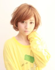 【Lotus hair design】エアリーショートボブ♪
